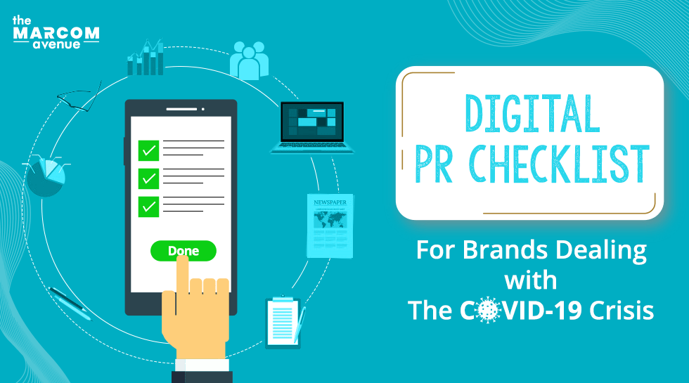 Digital PR Checklist For Brands Dealing with the COVID-19 Crisis