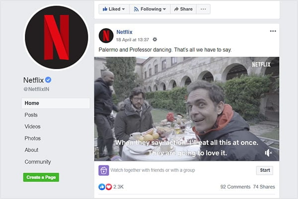 facebook optimization by netflix