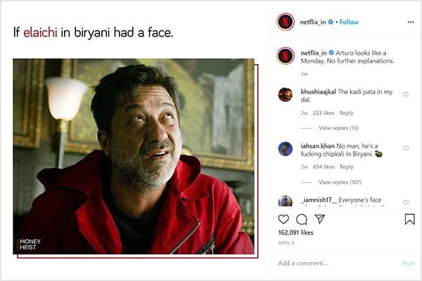 Meme in netflix marketing