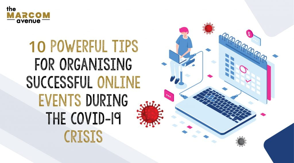 10 Powerful Marketing Tips For Organising Successful Online Events