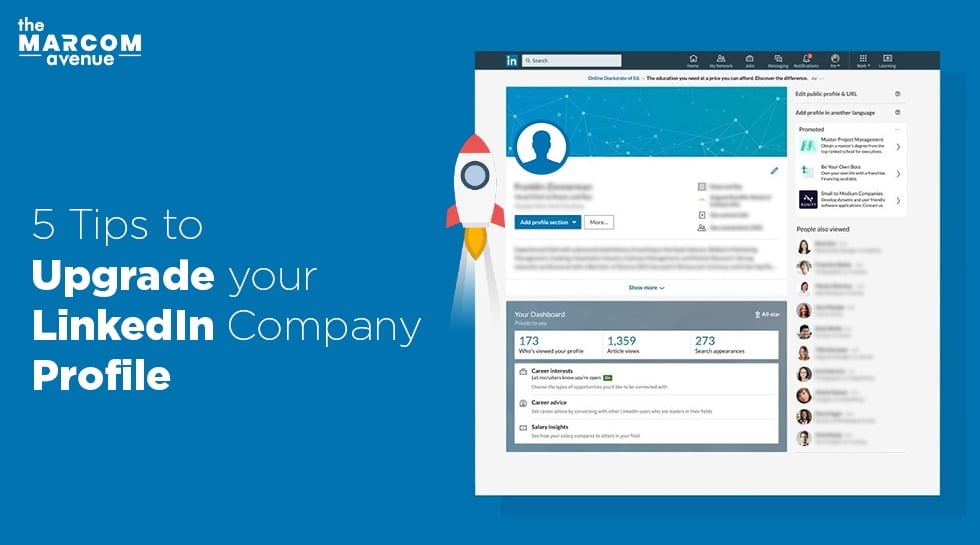 5 Tips To Upgrade Your LinkedIn Company Profile
