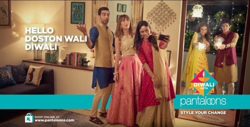 Diwali Campaigns- Pantaloons