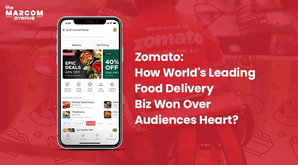 Zomato: How World's Leading Food Delivery Biz Won Over Audiences Heart?