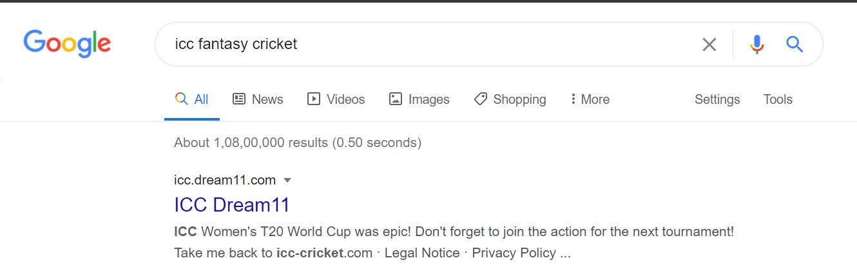 ICC- google search