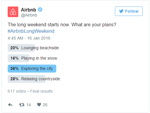 polls- market research- airbnb