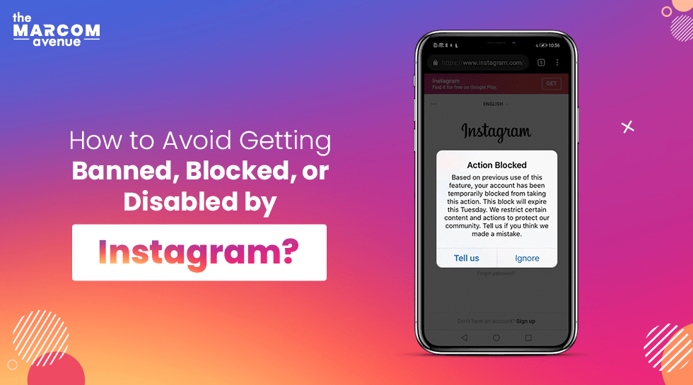 How to avoid getting banned, blocked, or disabled by Instagram?