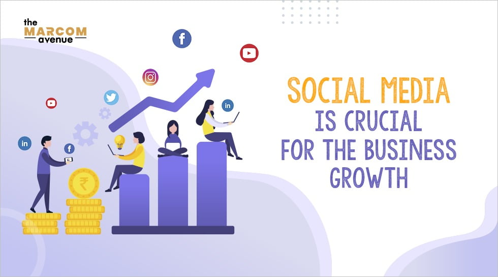 Social media is crucial for the business growth
